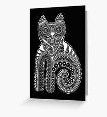 The white cat Greeting Card