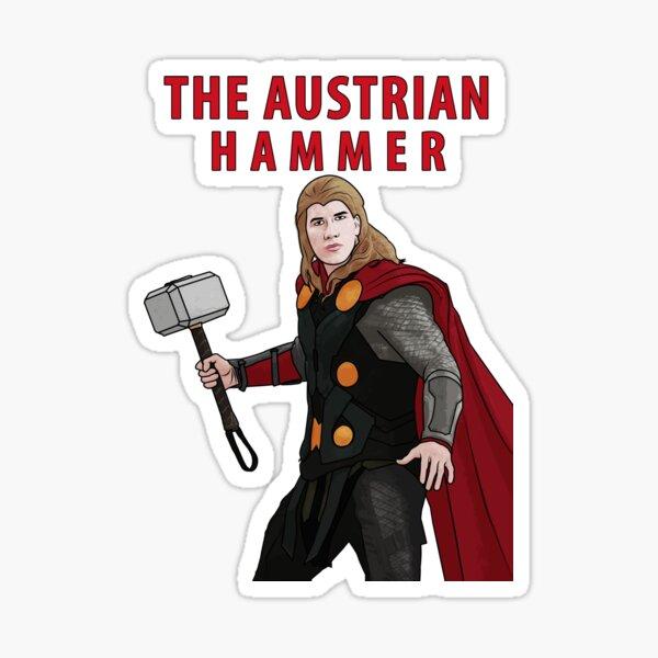 The Austrian Hammer Sticker