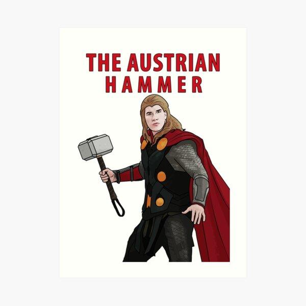 The Austrian Hammer Art Print