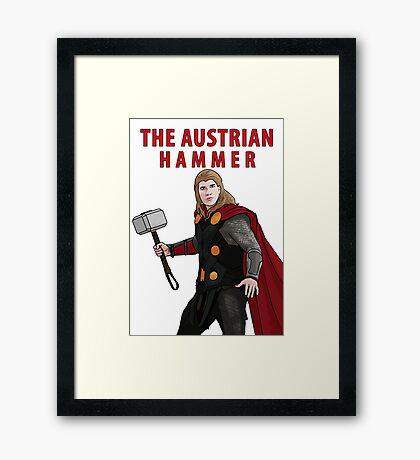 The Austrian Hammer Framed Print