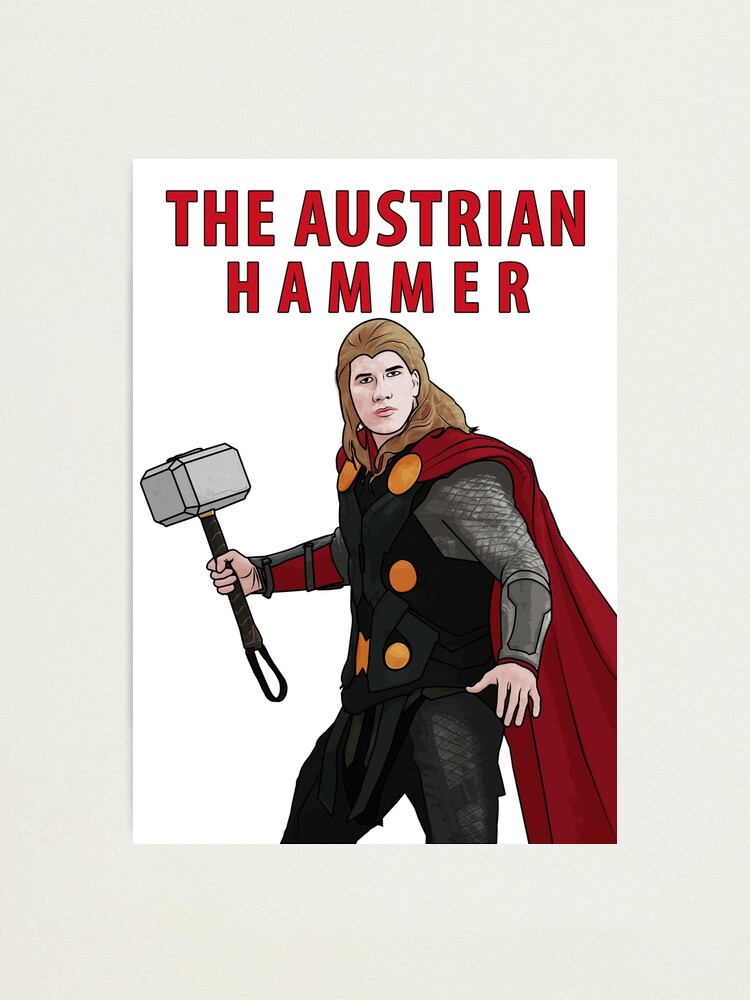 Alternate view of The Austrian Hammer Photographic Print