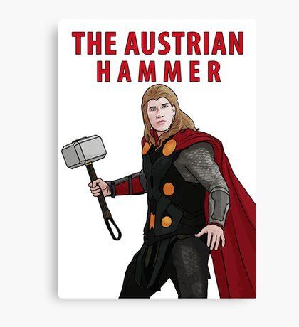 The Austrian Hammer Canvas Print