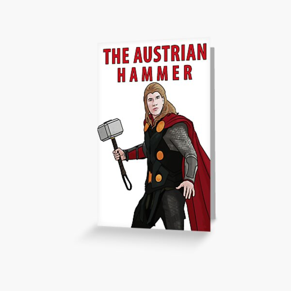 The Austrian Hammer Greeting Card