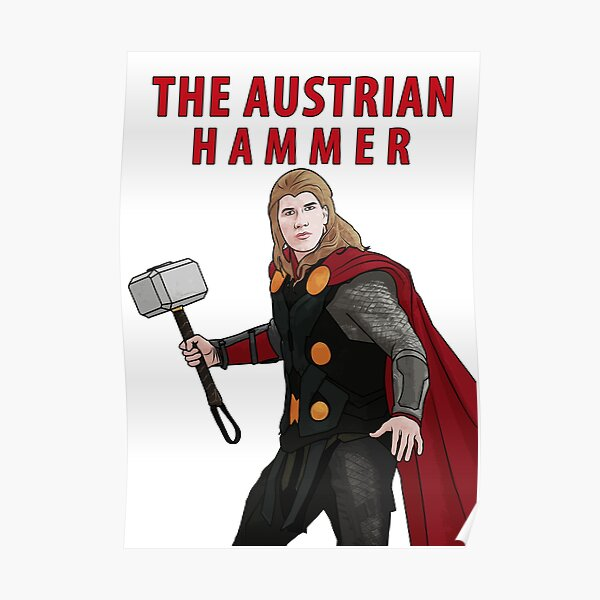 The Austrian Hammer Poster