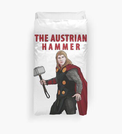 The Austrian Hammer Duvet Cover