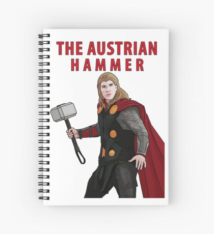 The Austrian Hammer Spiral Notebook