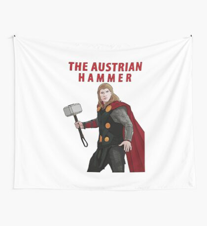 The Austrian Hammer Wall Tapestry