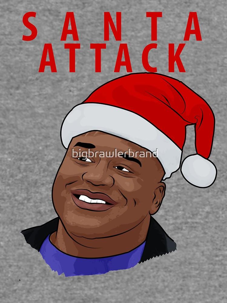 Santa Attack by bigbrawlerbrand