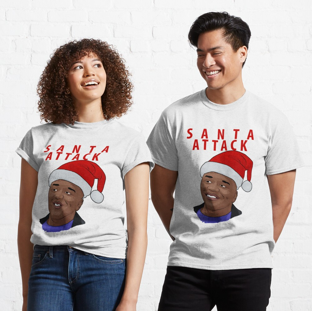 Santa Attack Classic T-Shirt