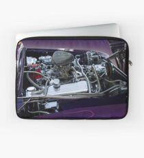 retro car engine engine Laptop Sleeve