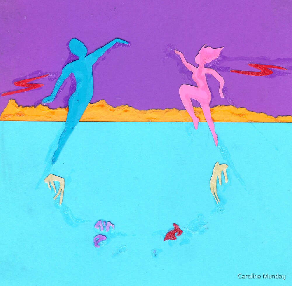 Escape The Monotony by Caroline Munday
