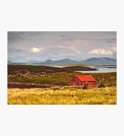 North Uist: The Bothy Photographic Print