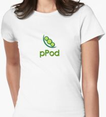 pPod Womens Fitted T-Shirt