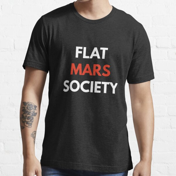 Flat Mars Society Shirt  Essential T-Shirt