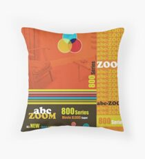 Homage to home movies Throw Pillow