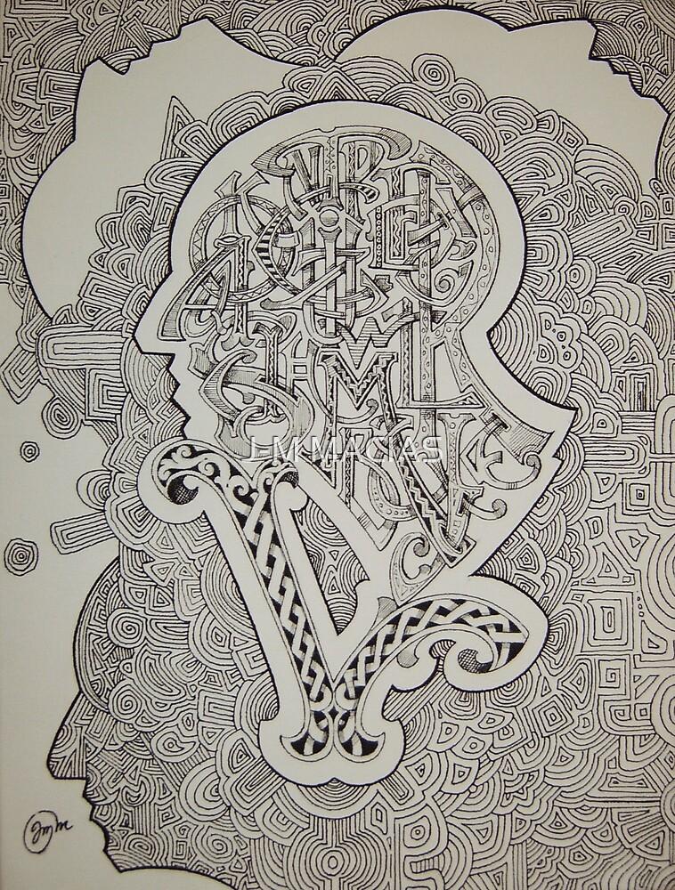 alphabet man N5 by J-M MACIAS