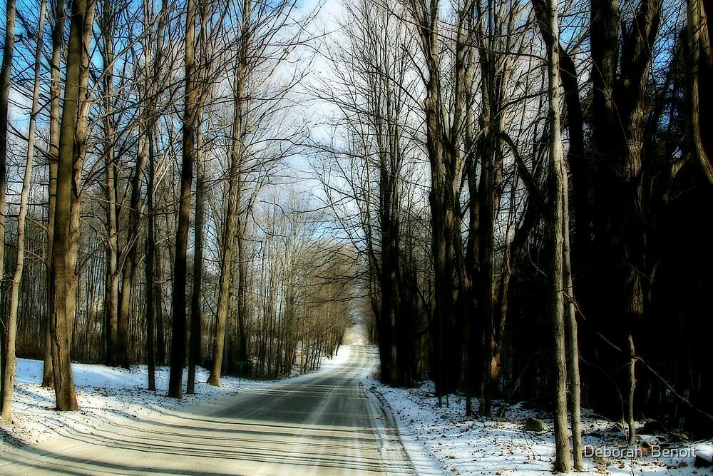 Country Road Franklin by Deborah  Benoit