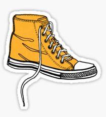 My Yellow Boot Sticker