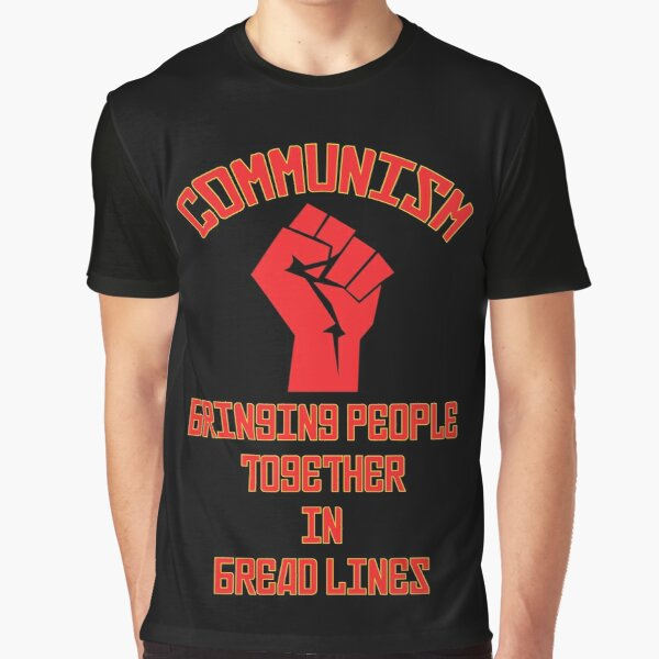 Graphic Communism Graphic T-Shirt