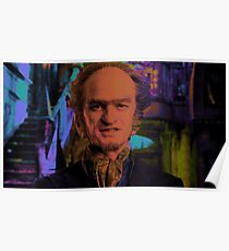 Unfortunate Events - Count Olaf portrait Poster