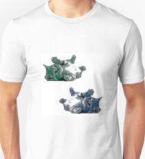Blue Green Kittens T-Shirt