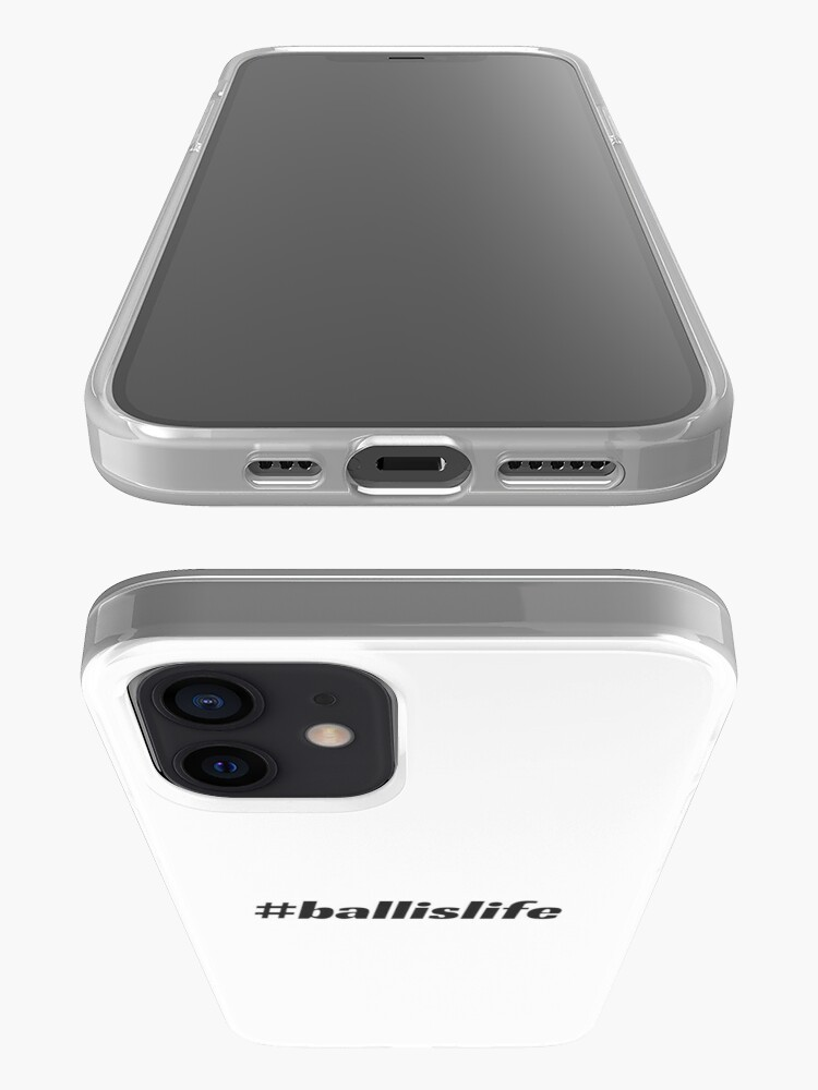 Alternate view of #ballislife iPhone Case & Cover