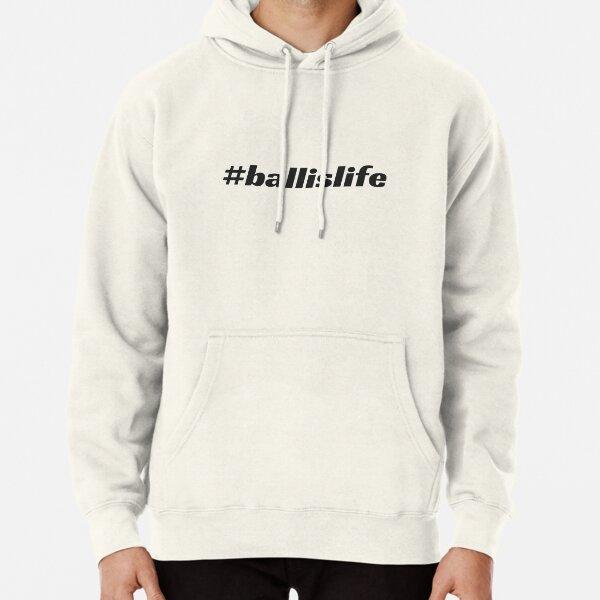 #ballislife Pullover Hoodie