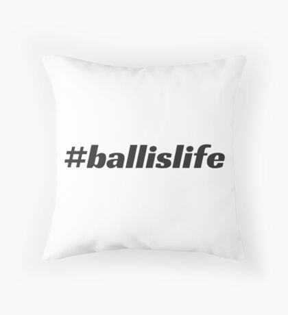 #ballislife Floor Pillow