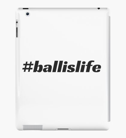 #ballislife iPad Case/Skin