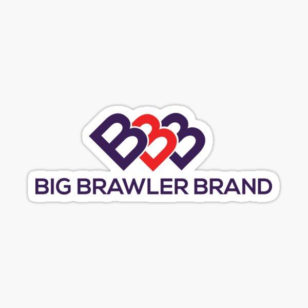 Big Brawler Brand Sticker