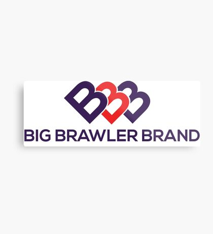 Big Brawler Brand Metal Print