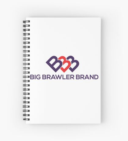 Big Brawler Brand Spiral Notebook