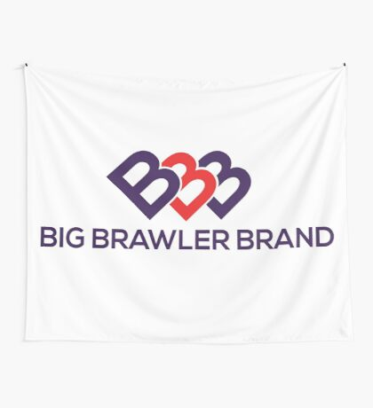 Big Brawler Brand Wall Tapestry