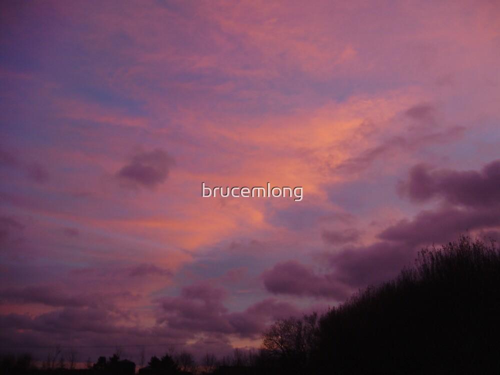 winter sunset by brucemlong