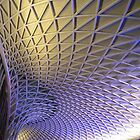 Kings Cross Station Concourse Roof by Graham Geldard