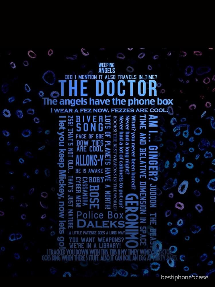 Doctor Who Quotes von bestiphone5case