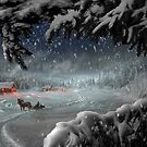 Country Christmas by Igor Zenin