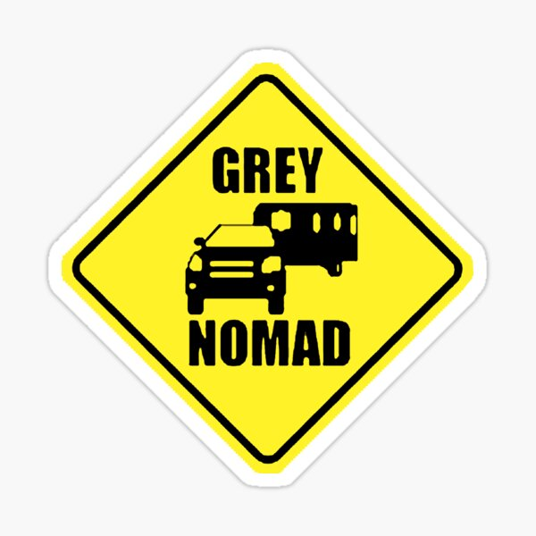 GREY NOMAD Sticker