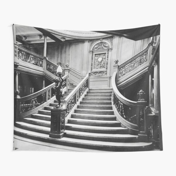 Titanic Grand Staircase Tapestry