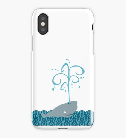 Whale in the sea VRS2 iPhone Case/Skin
