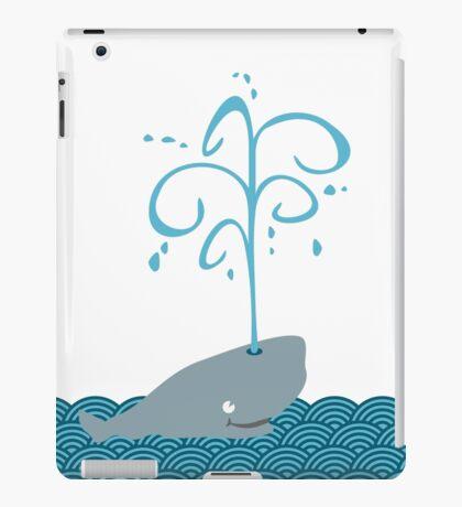 Whale in the sea VRS2 iPad Case/Skin