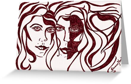Red Muses by ArtGenovee