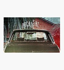 Arcade Fire Suburbs Photographic Print