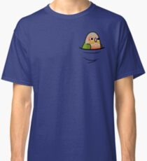 Too Many Birds! - Pineapple Green Cheek Conure Classic T-Shirt