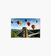 Bristol city balloons Art Board