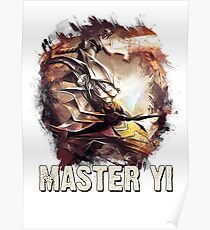 MASTER YI - League of Legends Poster