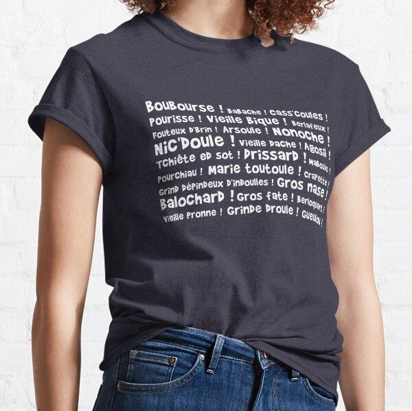 Boubourse, babache, etc... T-shirt classique