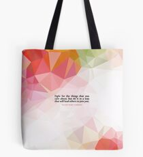 """Fight for the...""""Ruth Bader Ginsburg"""" Inspirational Quote Tote Bag"""