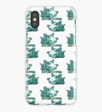 Kitten Power - Turqoise iPhone Case/Skin