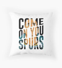 Come On You Spurs COYS Throw Pillow